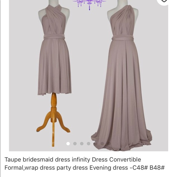 Dresses Infinity Maxi Dress Poshmark